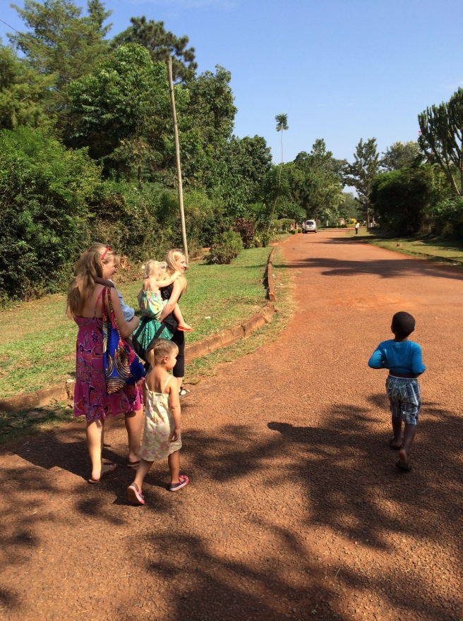 Trek to the swings for my sensory seeking kiddos!
